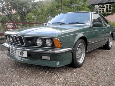 Lot 14 - 1986 BMW M635 CSi