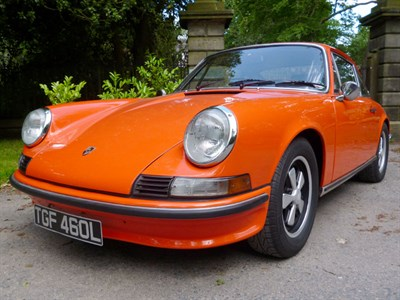 Lot 56 - 1972 Porsche 911 S 2.4