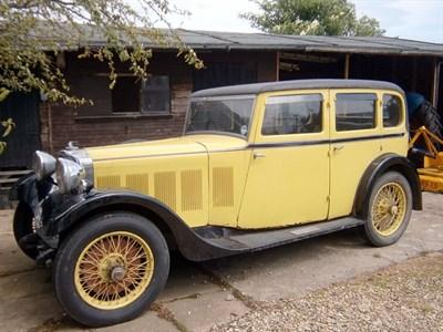 Lot 58 - 1933 Talbot AX65 Six Light Saloon
