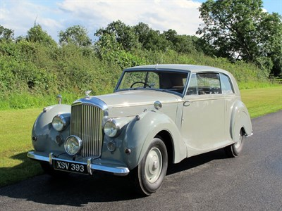 Lot 21-1946 Bentley MK VI James Young Fixed Head Coupe