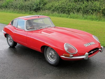 Lot 69-1964 Jaguar E-Type 3.8 Coupe