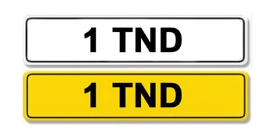 Lot 4 - Registration Number 1 TND