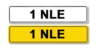 Lot 5 - Registration Number 1 NLE
