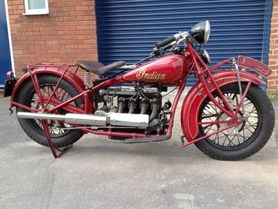 Lot 66 - 1935 Indian Four