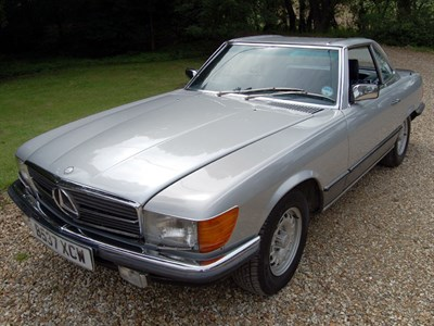 Lot 62 - 1985 Mercedes-Benz 500 SL
