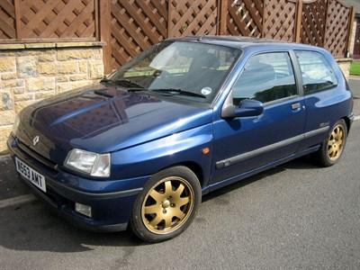 Lot 53-1995 Renault Clio Williams 3