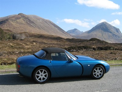Lot 45 - 1995 TVR Griffith 5.0