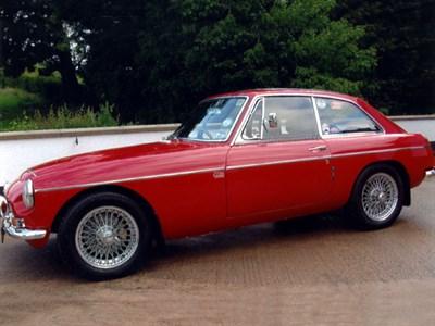Lot 36 - 1968 MG C GT