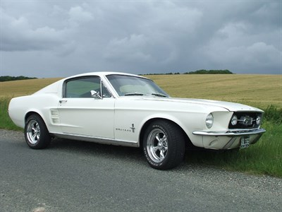 Lot 3 - 1967 Ford Mustang 289 Fastback