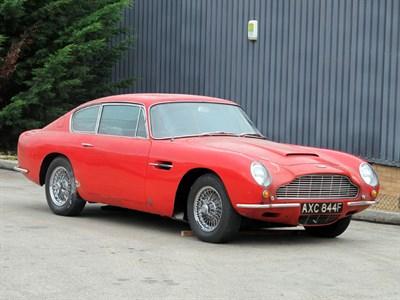 Lot 24-1967 Aston Martin DB6 Vantage