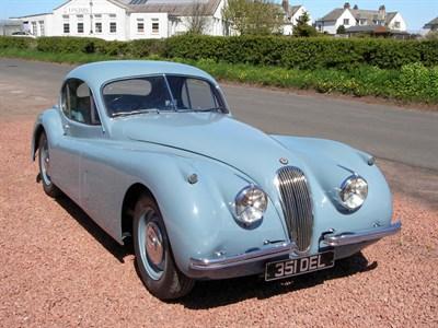 Lot 27-1953 Jaguar XK120 Fixed Head Coupe