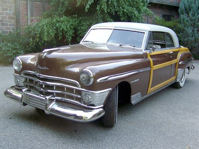 Lot 66-1950 Chrysler Town & Country Newport