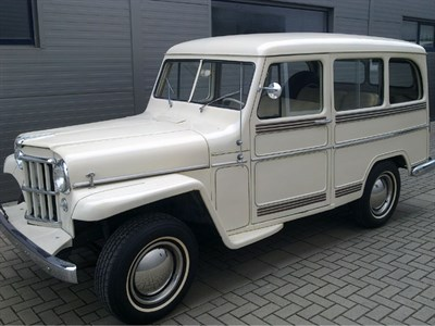 Lot 7 - 1958 Willys Station Wagon