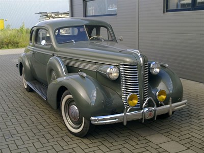 Lot 28-1938 Buick Series 40 Special Coupe