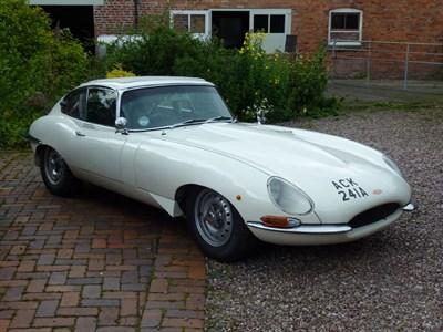 Lot 25-1963 Jaguar E-Type 3.8 Competition Coupe