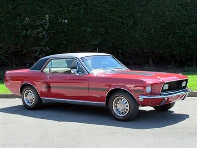 Lot 22-1968 Ford Mustang GT/CS 'California Special'