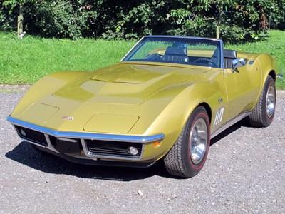 Lot 9 - 1969 Chevrolet Corvette Convertible