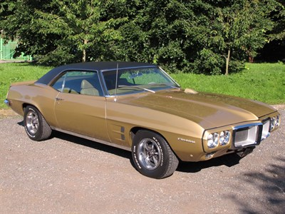 Lot 19-1970 Pontiac Firebird 350 Coupe