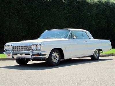 Lot 37-1964 Chevrolet Impala SS Sport Coupe