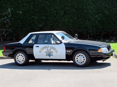 Lot 30-1992 Ford Mustang CHIPS SSP