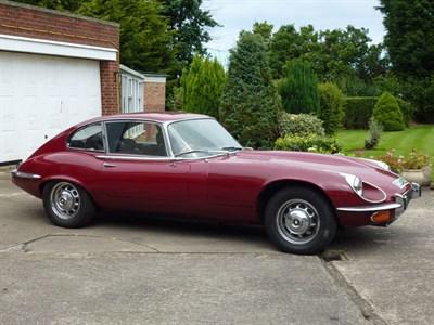 Lot 1 - 1971 Jaguar E-Type V12 Coupe