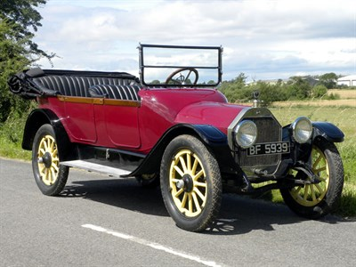 Lot 52 - 1915 Oldsmobile Model 43 Tourer