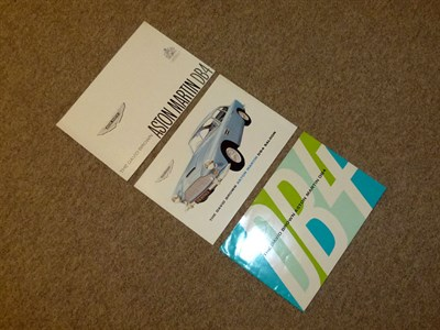 Lot 11 - Aston Martin Literature
