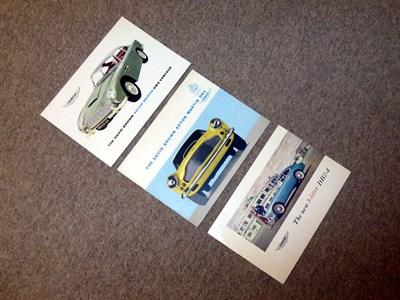 Lot 19 - Aston Martin Paperwork
