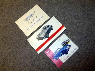 Lot 41 - Aston Martin Paperwork