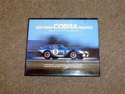 Lot 42 - Daytona Cobra Coupes by Peter Brock