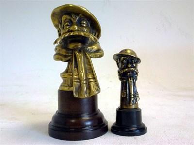 Lot 39 - Two Old Bill Mascots
