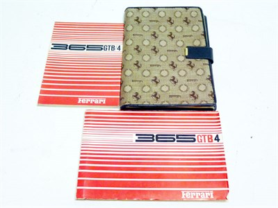 Lot 24 - Ferrari 365 GTB/4 Document Wallet
