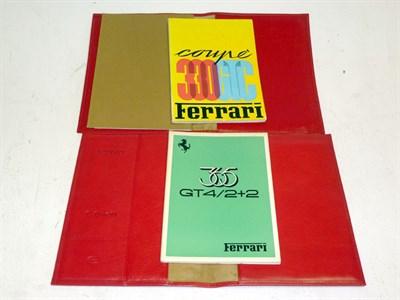 Lot 22 - Two Ferrari Document Wallets
