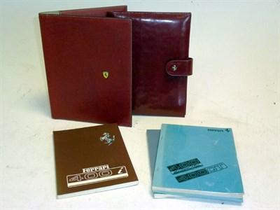 Lot 20 - Two Ferrari Document Wallets
