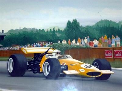 Lot 18 - McLaren F1 Original Artwork