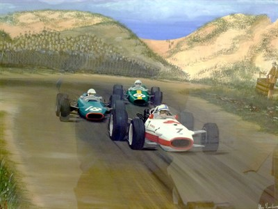 Lot 16 - Honda/Surtees Artwork