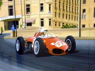 Lot 6 - Ferrari/Hill Original Artwork
