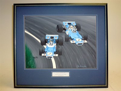 Lot 2 - Tyrell-Ford/Stewart Original Artwork