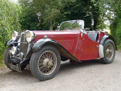 Lot 34 - 1935 Singer 1.5 Litre Le Mans
