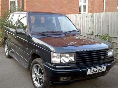 Lot 1 - 2001 Range Rover Holland & Holland