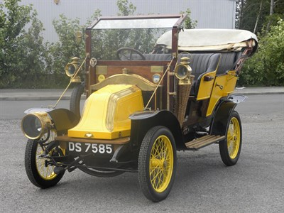 Lot 34-1910 Renault AX Tourer
