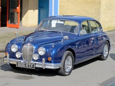Lot 25-1960 Jaguar MK II