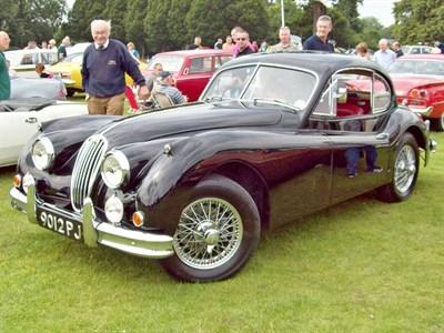 Lot 18 - 1955 Jaguar XK140 Fixed Head Coupe