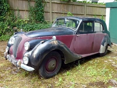 Lot 19 - 1951 Lagonda 2.6 Litre Saloon