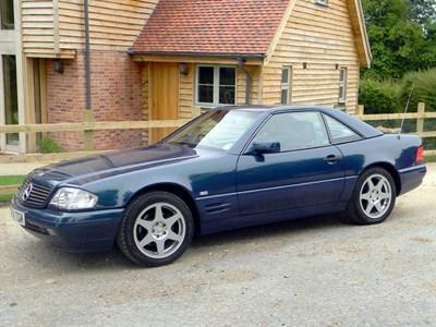 Lot 4 - 1998 Mercedes-Benz SL 320 'Special Edition'