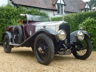 Lot 48 - 1920 Vauxhall 30/98 E-Type Tourer