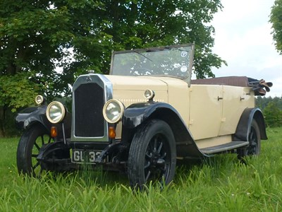 Lot 57 - 1929 Swift 10hp 3P Tourer