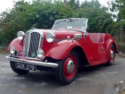 Lot 26 - 1951 Singer Nine 4AB Roadster