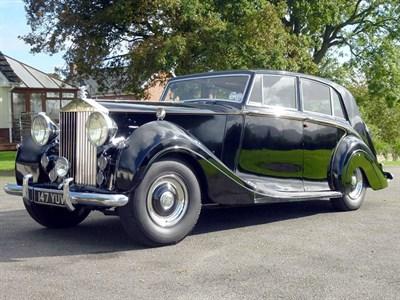 Lot 17 - 1954 Rolls-Royce Silver Wraith Touring Limousine