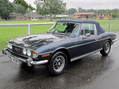 Lot 37 - 1976 Triumph Stag